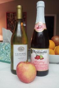sparkling wine cider