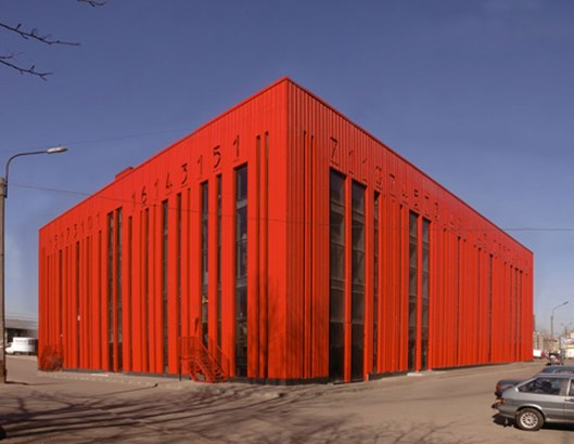 Unique-Building-Design-the-Red-Barcode-Building